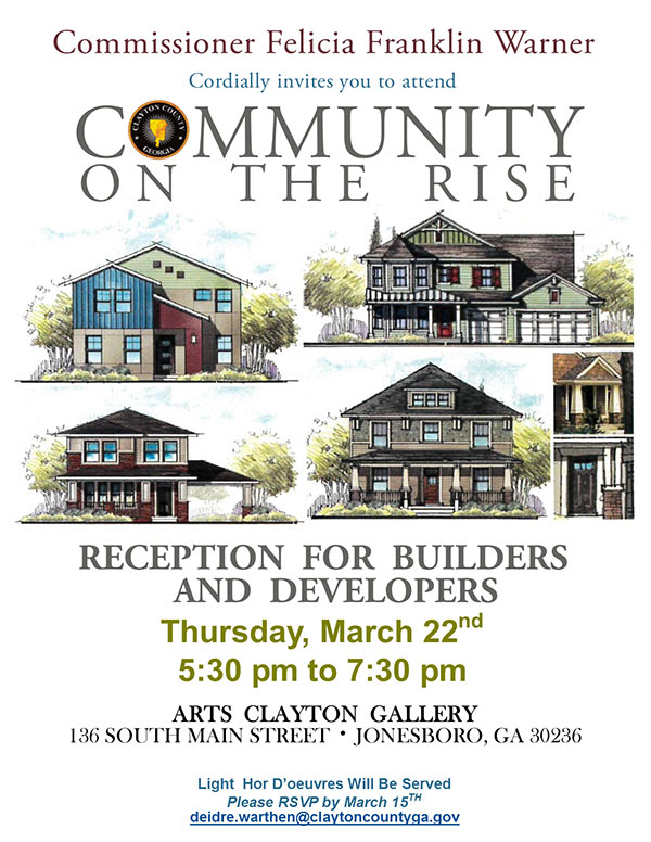 Community On The Rise Builders And Developers Reception Jv Test