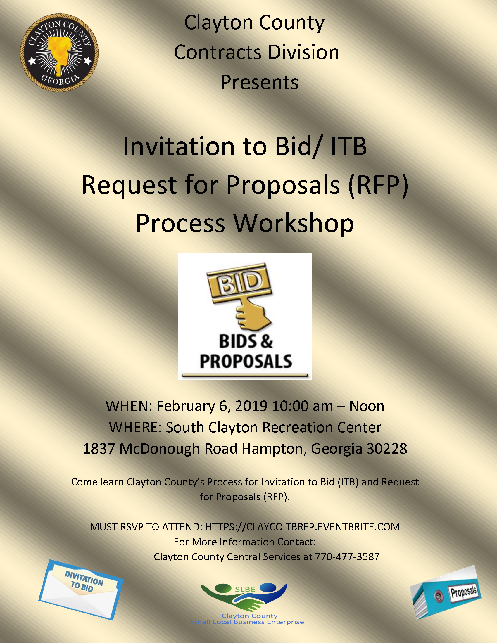 Bid Workshop Flyer